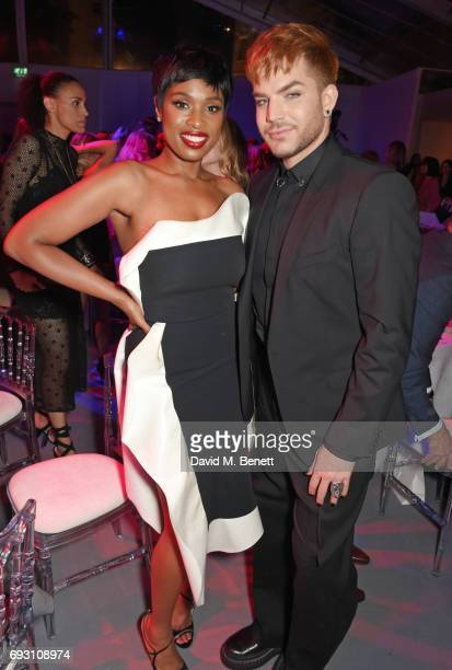 Jennifer Hudson and Adam Lambert attend the Glamour Women of The Year Awards 2017 in Berkeley Square Gardens on June 6 2017 in London England