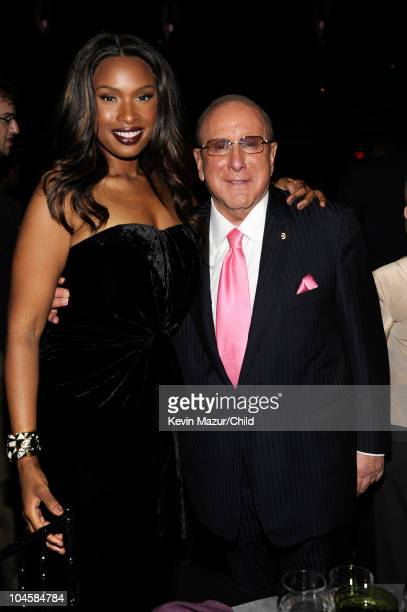 Jennifer Hudson and Chief Creative Officer of Sony Music Entertainment Worldwide Clive Davis attends at Keep A Child Alive's 7th annual Black Ball at...