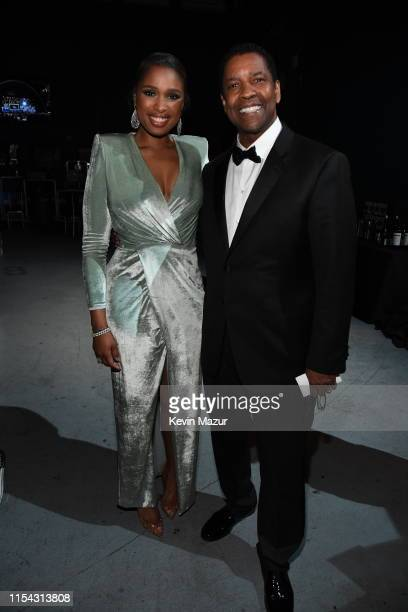 Jennifer Hudson and honoree Denzel Washington attend the 47th AFI Life Achievement Award honoring Denzel Washington at Dolby Theatre on June 06 2019...