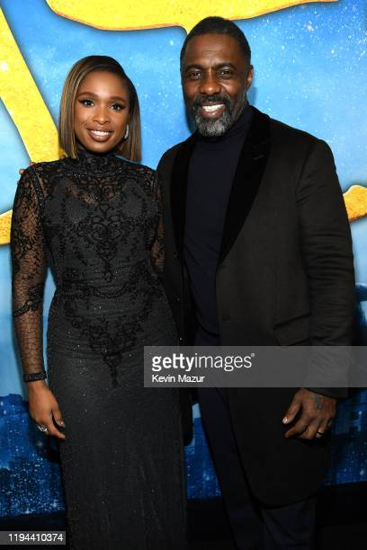 Jennifer Hudson and Idris Elba attend The World Premiere of Cats, presented by Universal Pictures on December 16, 2019 in New York City.
