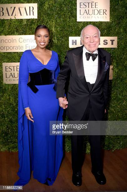 Jennifer Hudson and Leonard A Lauder attend the Lincoln Center Corporate Fashion Gala honoring Leonard A Lauder at Alice Tully Hall on November 18...