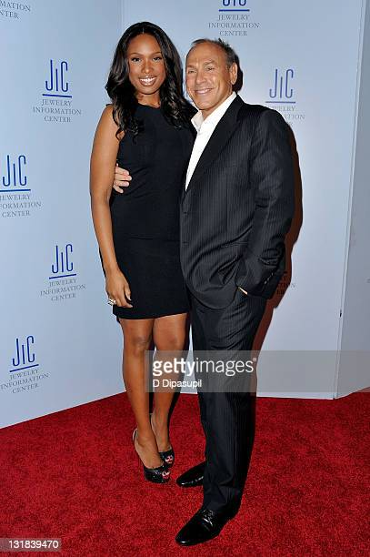 Jennifer Hudson and Neil Lane attend the 9th Annual GEM Awards at Cipriani 42nd Street on January 7, 2011 in New York City.