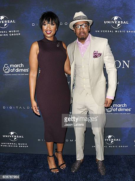 Jennifer Hudson and Nick Cannon attend the 2016 March of Dimes Celebration of Babies at the Beverly Wilshire Four Seasons Hotel on December 9 2016 in...