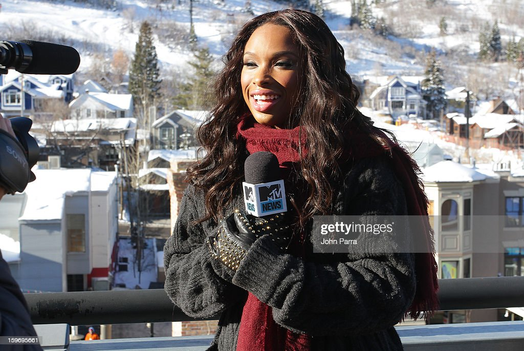 Jennifer Hudson appears at the Nikki Beach pop-up lounge & restaurant at Sundance on January 18, 2013 in Park City, Utah.