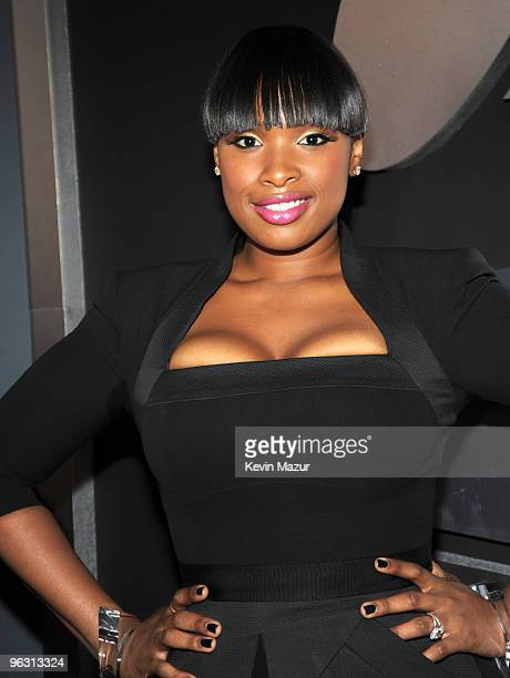 Jennifer Hudson arrives at the 52nd Annual GRAMMY Awards held at Staples Center on January 31, 2010 in Los Angeles, California.