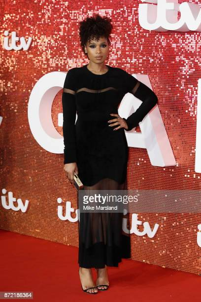 Jennifer Hudson arrives at the ITV Gala held at the London Palladium on November 9 2017 in London England