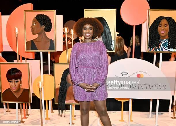Jennifer Hudson at Mastercard's Strivers Celebration event honoring Black women entrepreneurs across the U.S. At The Apollo Theater on August 18,...