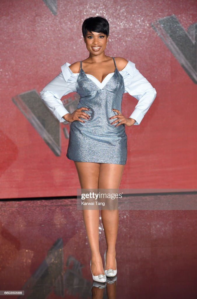 Jennifer Hudson attends a photocall for the final of The Voice UK at LH2 on March 29, 2017 in London, United Kingdom.