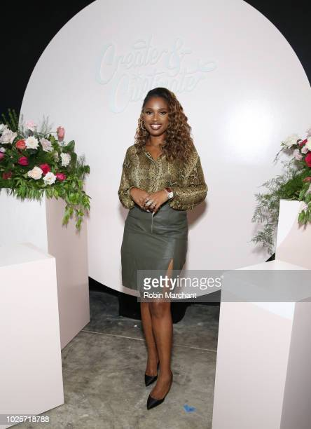 Jennifer Hudson attends Create Cultivate Conference In Chicago With Partners Including Microsoft Teams JCPenney McDonald's And Comcast NBCUniversal...
