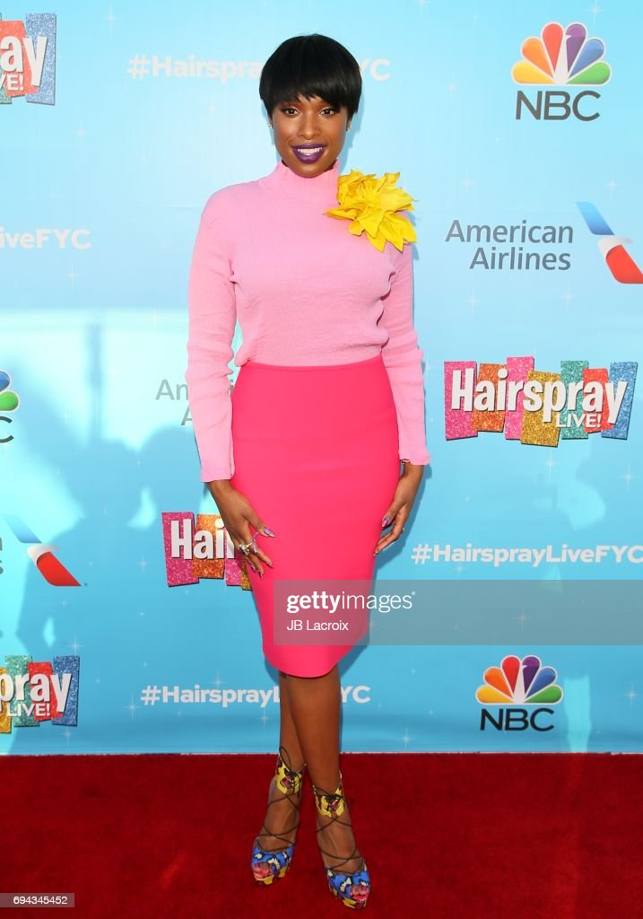 Jennifer Hudson attends NBC's 'Hairspray Live!' FYC event on June 09, 2017 in North Hollywood, California.