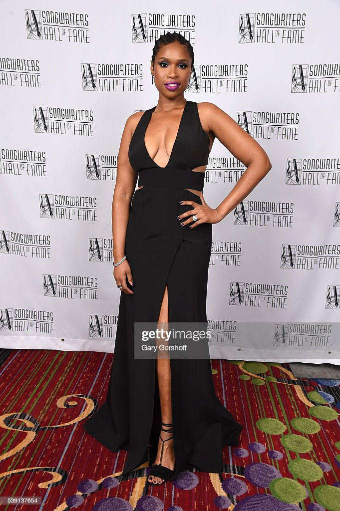 Jennifer Hudson attends Songwriters Hall Of Fame 47th Annual Induction And Awards at Marriott Marquis Hotel on June 9, 2016 in New York City.