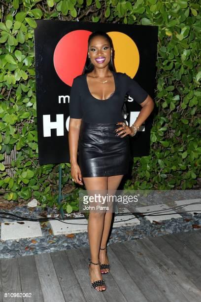 Jennifer Hudson attends SU2C Jennifer Hudson Concert At The Masterpass Houseon July 8 2017 in Miami Beach Florida