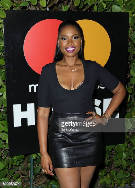 Jennifer Hudson attends SU2C Jennifer Hudson Concert At The Masterpass Houseon July 8 2017 in Miami Beach Florida
