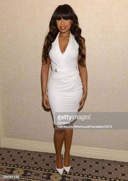 Jennifer Hudson attends the 2013 Amy Winehouse Foundation Inspiration Awards and Gala at The Waldorf=Astoria on March 21 2013 in New York City