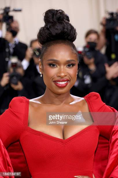 Jennifer Hudson attends The 2021 Met Gala Celebrating In America: A Lexicon Of Fashion at Metropolitan Museum of Art on September 13, 2021 in New...