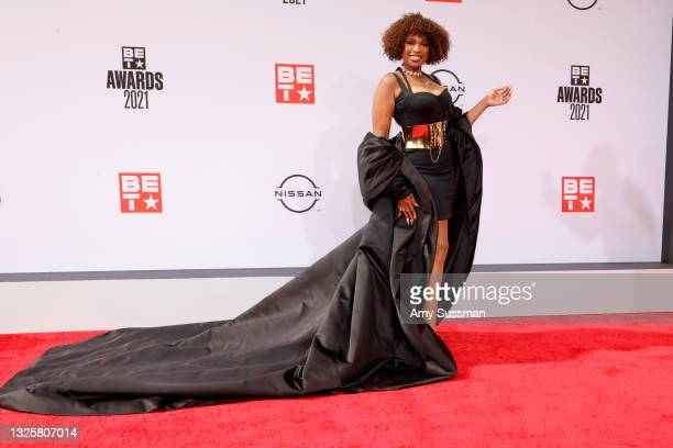 Jennifer Hudson attends the BET Awards 2021 at Microsoft Theater on June 27, 2021 in Los Angeles, California.