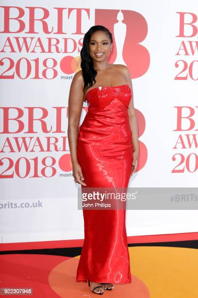 AWARDS 2018*** Jennifer Hudson attends The BRIT Awards 2018 held at The O2 Arena on February 21 2018 in London England