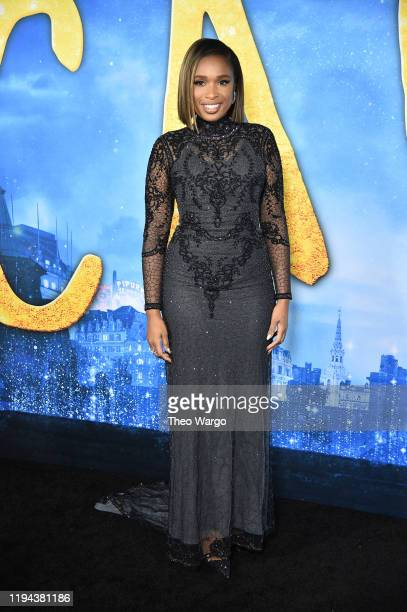 Jennifer Hudson attends the Cats World Premiere at Alice Tully Hall Lincoln Center on December 16 2019 in New York City