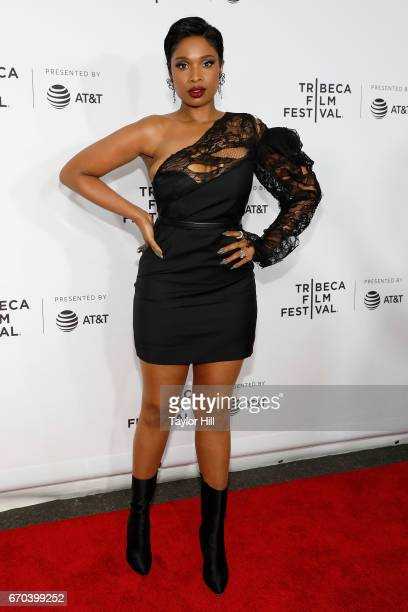 Jennifer Hudson attends the Clive Davis The Soundtrack of Our Lives 2017 Opening Gala of the Tribeca Film Festival at Radio City Music Hall on April...