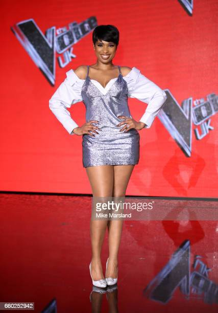 Jennifer Hudson attends the final of The Voice UK on March 29 2017 in London United Kingdom
