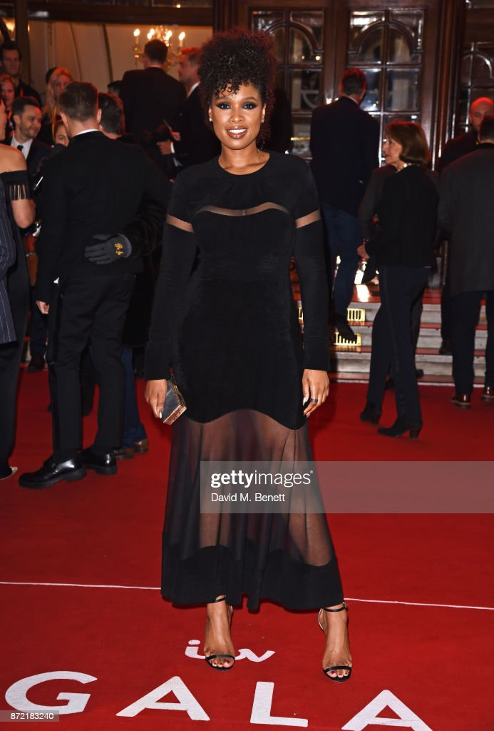 Jennifer Hudson attends the ITV Gala held at the London Palladium on November 9, 2017 in London, England.