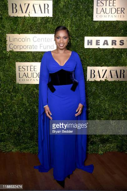 Jennifer Hudson attends the Lincoln Center Corporate Fashion Gala honoring Leonard A. Lauder at Alice Tully Hall on November 18, 2019 in New York...
