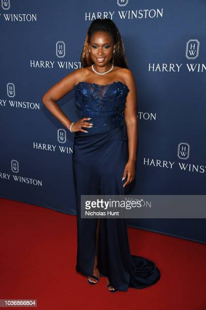 Jennifer Hudson attends the New York Collection by Harry Winston at The Rainbow Room on September 20 2018 in New York City