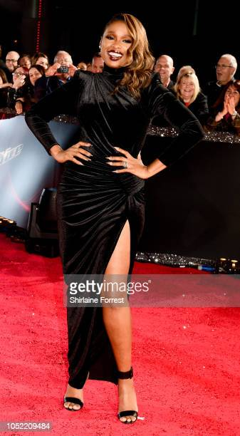 Jennifer Hudson attends The Voice UK 2018 photocall at mediacityuk on October 15 2018 in Manchester England