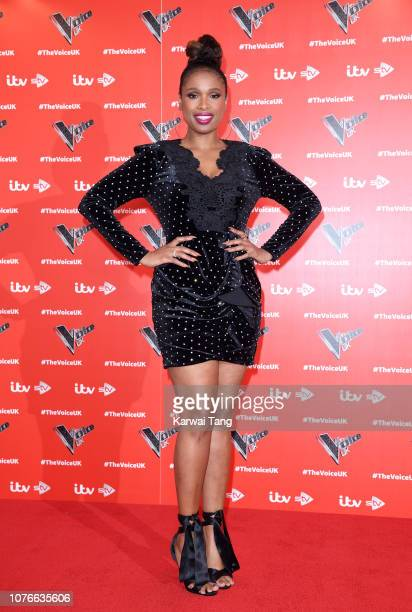 Jennifer Hudson attends The Voice UK 2019 launch at W Hotel Leicester Sq on January 3 2019 in London England