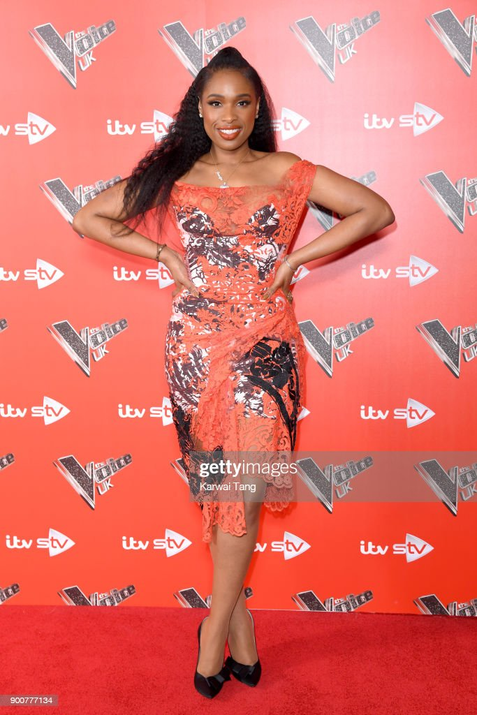 Jennifer Hudson attends The Voice UK Launch photocall at Ham Yard Hotel on January 3, 2018 in London, England.