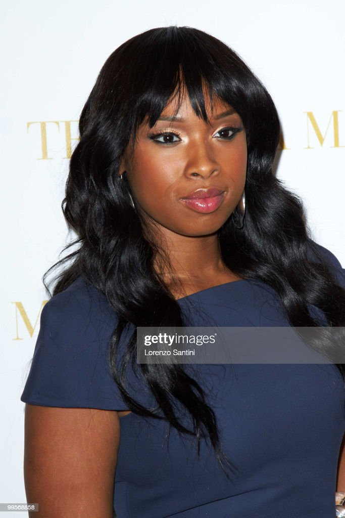 Jennifer Hudson attends the 'Winnie' Press Conference at the Martini Terrazza of Cannes on May 15, 2010 in Cannes, France.