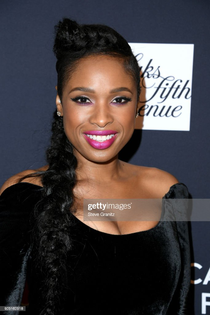 Jennifer Hudson attends The Women's Cancer Research Fund's An Unforgettable Evening Benefit Gala at the Beverly Wilshire Four Seasons Hotel on February 27, 2018 in Beverly Hills, California.