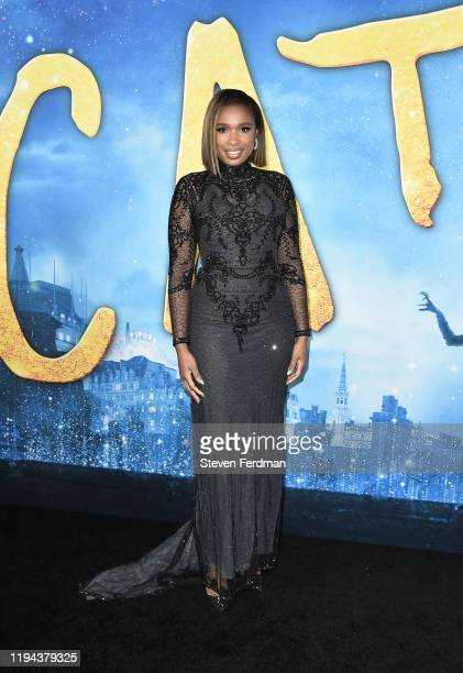 Jennifer Hudson attends the world premiere of Cats at Alice Tully Hall Lincoln Center on December 16 2019 in New York City