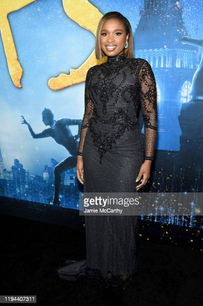Jennifer Hudson attends The World Premiere of Cats presented by Universal Pictures on December 16 2019 in New York City