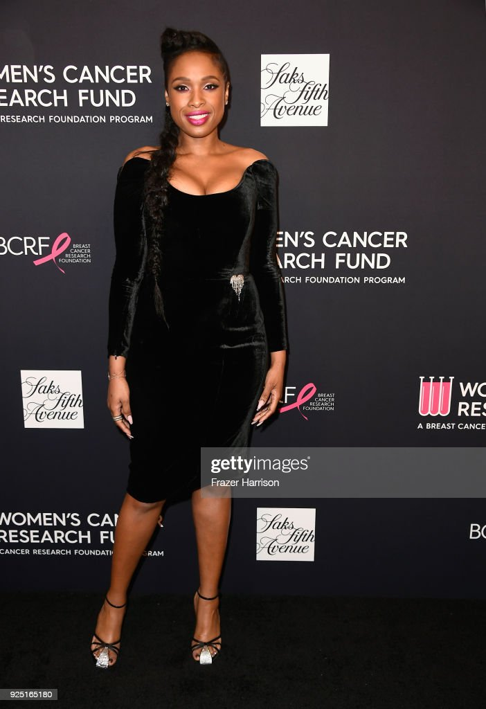Jennifer Hudson attends WCRF's 'An Unforgettable Evening' at the Beverly Wilshire Four Seasons Hotel on February 27, 2018 in Beverly Hills, California.