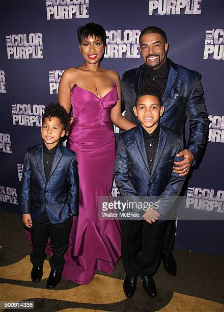 Jennifer Hudson David Otunga David Otunga Jr and Troy attend the Broadway Opening Night Performance After Party for 'The Color Purple' at Copacabana...