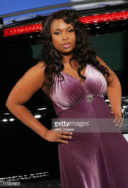 Jennifer Hudson during 2007 GM Style Show in Detroit Michigan United States