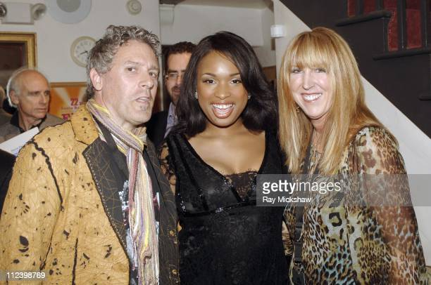 Jennifer Hudson during 22nd Annual Santa Barbara International Film Festival Bill Condon Honored with The Montecito Award Backstage at Lobero Theatre...