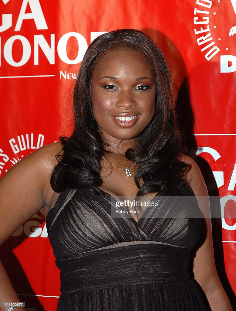 Jennifer Hudson during Directors Guild of America Honors David Chase - Arrivals - October 12, 2006 at DGA Building in New York City, New York, United States.