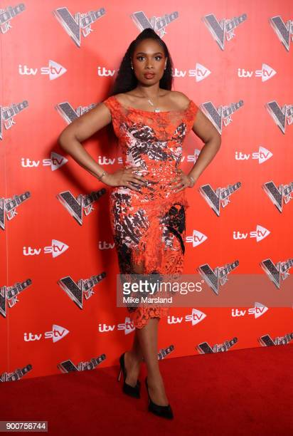 Jennifer Hudson during The Voice UK Launch photocall held at Ham Yard Hotel on January 3 2018 in London England