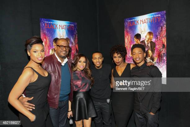 Jennifer Hudson Forest Whitaker Keshia Chante Bow Wow Angela Bassett and Jacob Latimore attend 106 Park at BET Studios on November 19 2013 in New...