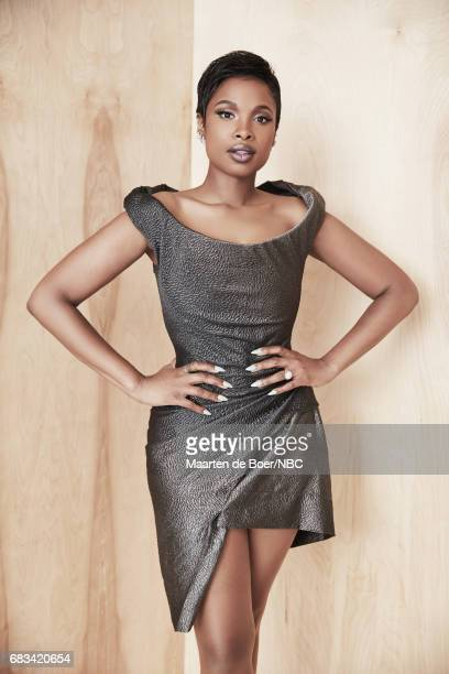 Jennifer Hudson of 'The Voice' poses for a photo during NBCUniversal Upfront Events Season 2017 Portraits Session at Ritz Carlton Hotel on May 15...