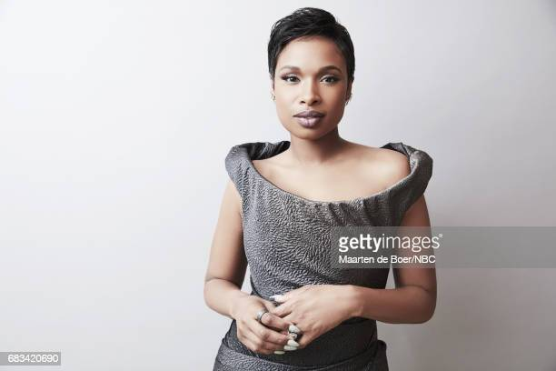 """Jennifer Hudson of """"The Voice"""" poses for a photo during NBCUniversal Upfront Events - Season 2017 Portraits Session at Ritz Carlton Hotel on May 15,..."""