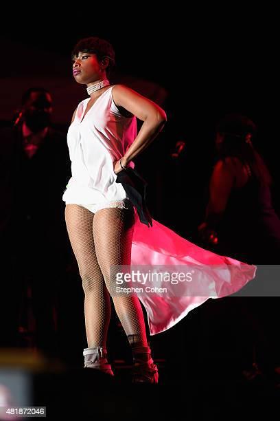 Jennifer Hudson performs during during day 1 of the 2015 Cincinnati Music Festival at Paul Brown Stadium on July 24, 2015 in Cincinnati, Ohio.