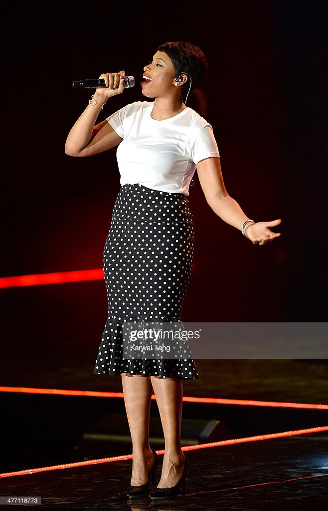 Jennifer Hudson performs on stage at We Day UK, a charity event to bring young people together at Wembley Arena on March 7, 2014 in London, England.