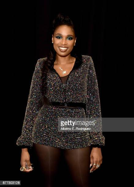 Jennifer Hudson poses for a photo during NBC's 'The Voice' Season 13 on November 20 2017 in Universal City California