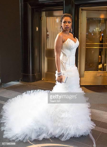 Jennifer Hudson seen leaving her hotel on May 2 2016 in New York City