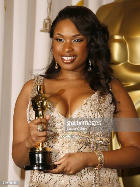 Jennifer Hudson, winner Best Actress in a Supporting Role for ?Dreamgirls? at the Kodak Theatre in Los Angeles, California