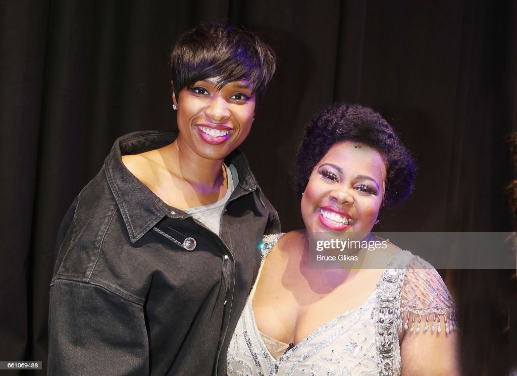 "Jennifer Hudson Visits ""Dreamgirls"" Musical In London : News Photo"