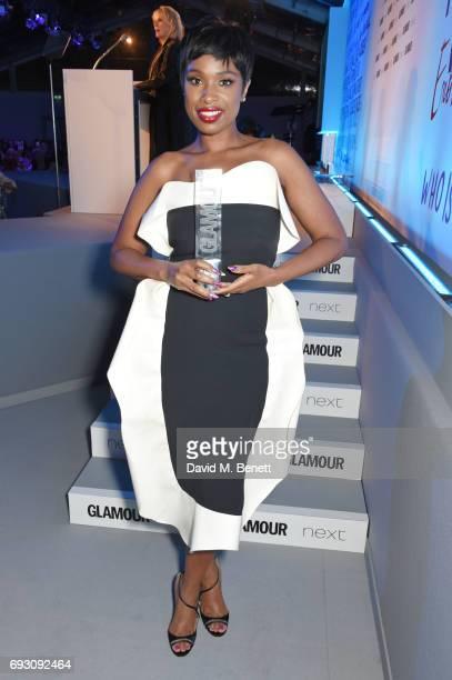 Jennifer Hudson winner of the Trailblazer award attends the Glamour Women of The Year Awards 2017 in Berkeley Square Gardens on June 6 2017 in London...